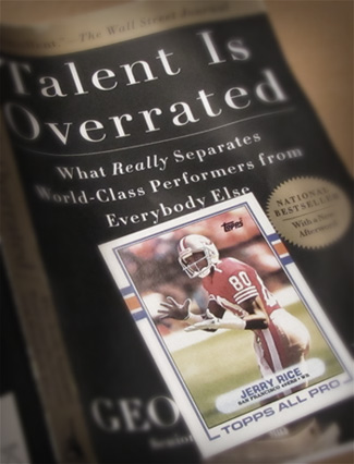 Jerry Rice Deliberate Practice