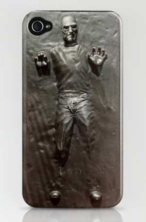 Steve Jobs Frozen In Carbonite iPhone Case