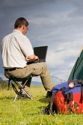 wi-fi enabled camping