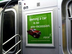 Zip Car Ad