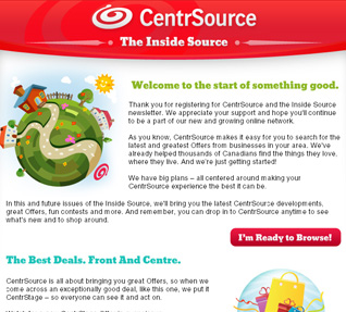 CentrSource Consumer Email