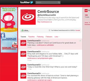 CentrSource Twitter