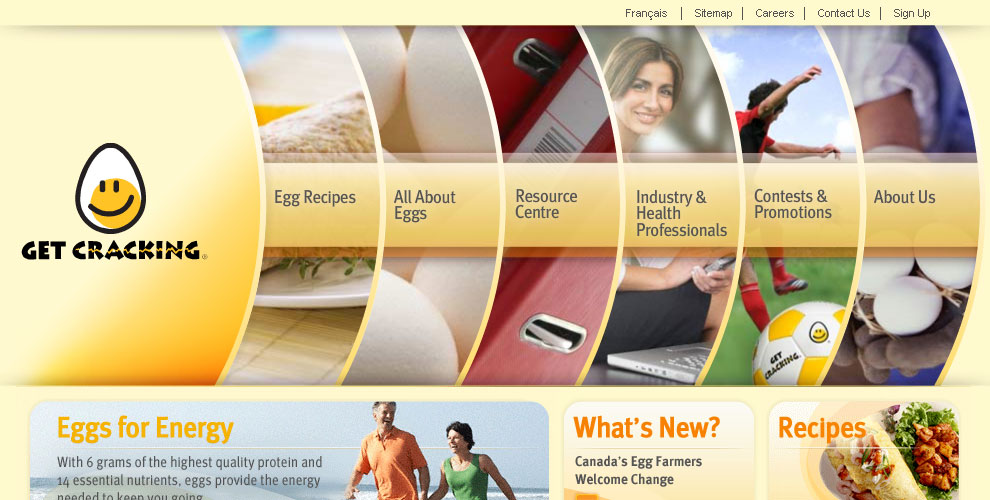 Eggs Home Page