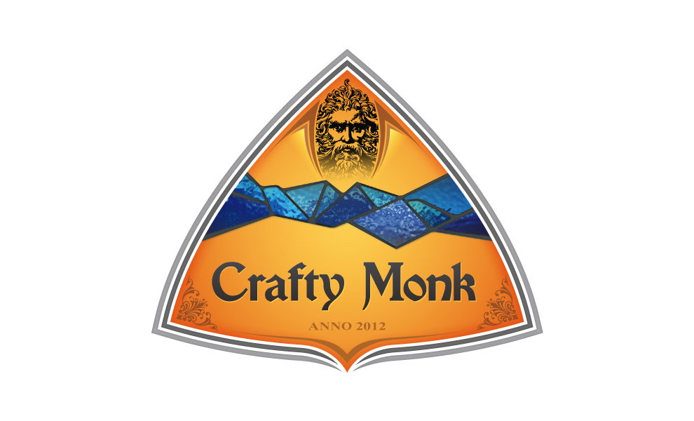 The Crafty Monk - logo concept 01