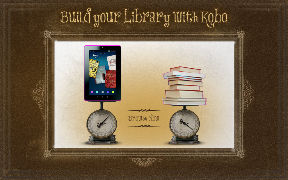 kobo - Build your Library - Concept01b