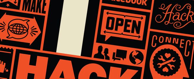 Facebook Hack-A-Thon poster - Ben Barry