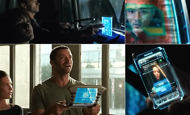 Real Steel (2011) screen interfaces
