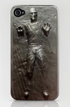 Steve Jobs Frozen In Carbonite iPhone Case