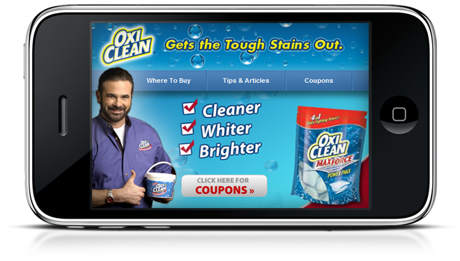Would we have an official OxiClean® App had Billy Mays survived to witness the rise of the mobile Web?